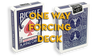Assorted Mandolin Blue One Way Forcing Deck (assorted values)