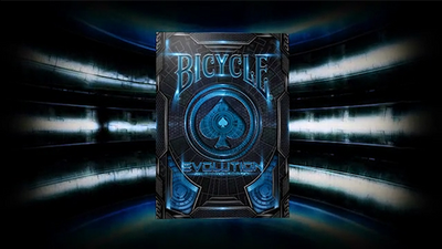 Bicycle Evolution Deck (Blue) by USPCC