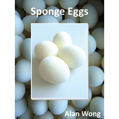 Sponge Eggs (4pk.) by Alan Wong - Trick