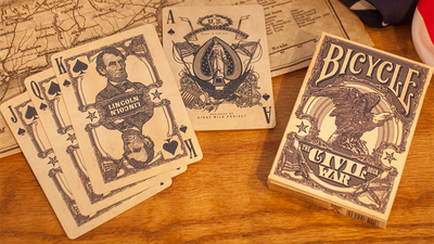 Bicycle Civil War Deck (Blue) by US Playing Card Co