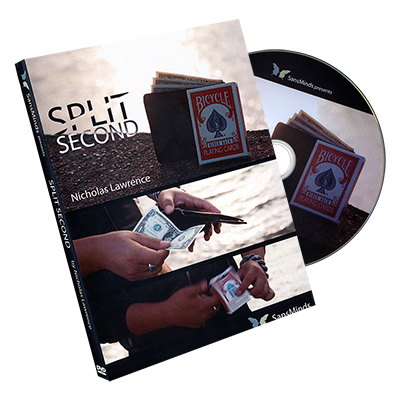Split Second (Red) by Nicholas Lawrence and SansMinds - DVD