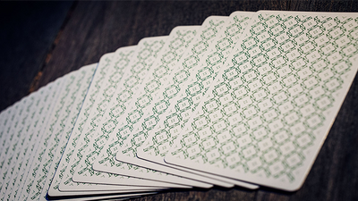At the Table Playing Cards (green)