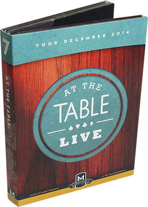 At the Table Live Lecture December 2014 (4 DVD set) - DVD