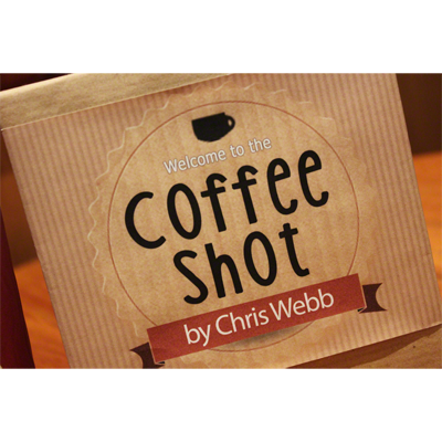 Coffee Shot (Gimmicks & DVD) by Chris Webb - Trick