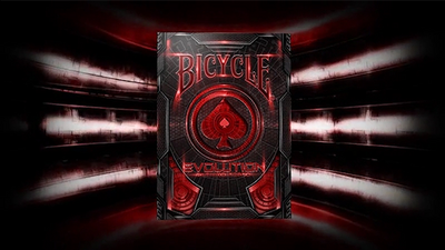 Bicycle Evolution Deck (Red) by USPCC