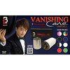 Vanishing Cane (Metal / White) by Handsome Criss and Taiwan Ben Magic - Tricks