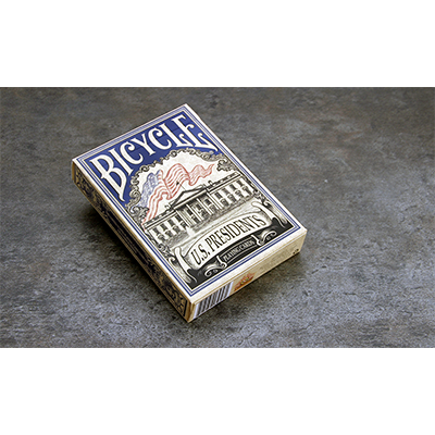 Bicycle US Presidents Playing Cards (Blue Collector Edition) by Collectable Playing Cards
