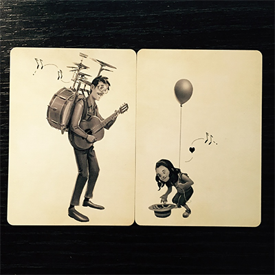 Busker Vintage Playing Cards by Mana Playing Cards