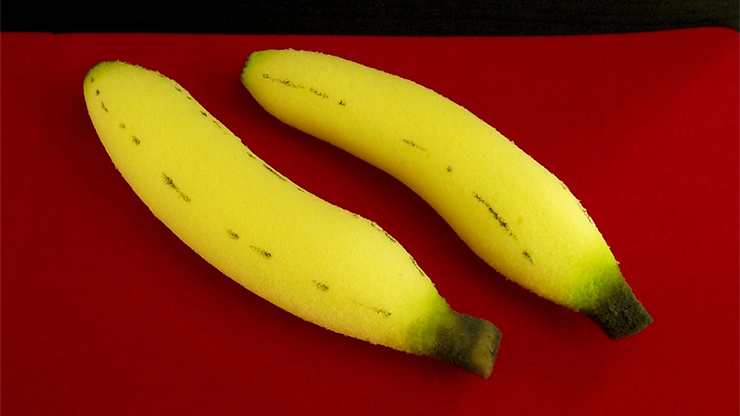 Sponge Bananas (large/2 pieces) by Alexander May - Trick