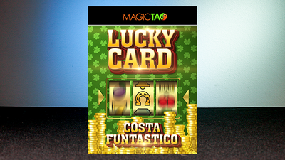 Lucky Card Blue (Gimmick and Online Instructions) by Costa Funtastico - Trick