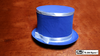 Collapsible Top Hat (Blue) by Mr. Magic - Trick