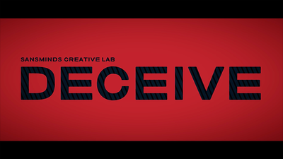 Deceive (Gimmick Material Included) by SansMinds Creative Lab
