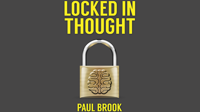 Locked In Thought (Gimmick and Online Instructions) by Paul Brook - Trick