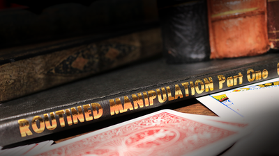 Routined Manipulation Part One (Limited/Out of Print) by Lewis Ganson - Book