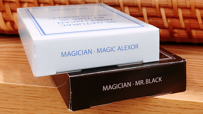 Magic Notebook Deck - Limited Edition (Black) by The Bocopo Playing Card Company