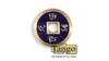 Dollar Size Chinese Coin (Purple) by Tango (CH034)