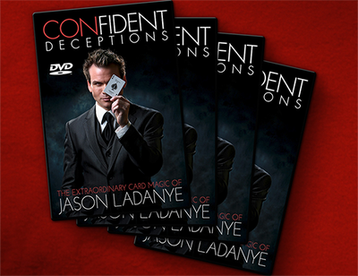 Confident Deceptions (4 DVD Set) by Jason Ladanye - DVD
