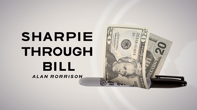 Sharpie Through Bill by Alan Rorrison and SansMinds - DVD