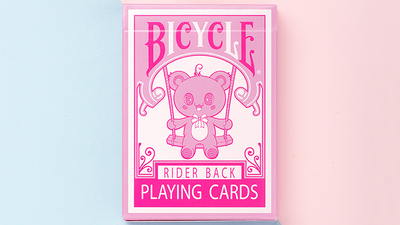 Bicycle Lovely Bear Cards - Pink (Limited Edition)