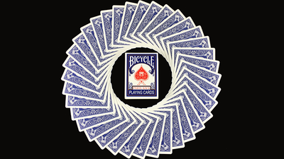 Bicycle Paris Back Limited Edition Blue Playing Cards by JOKARTE