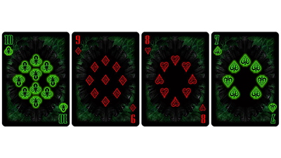 Bicycle Cthulhu R'LYEH RISING Limited Edition Playing Cards