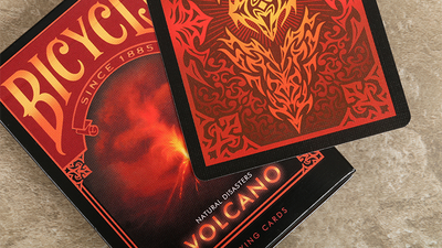 "Bicycle Natural Disasters ""Volcano"" Playing Cards by Collectable Playing Cards"