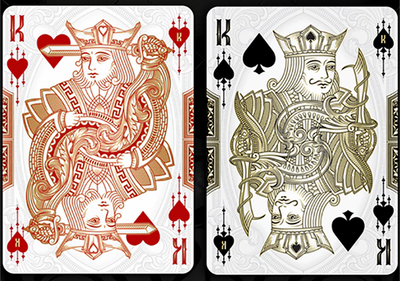 Bicycle Mystique (Red) Playing Cards
