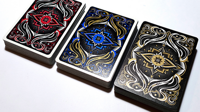 Realms (Blue) Playing Cards