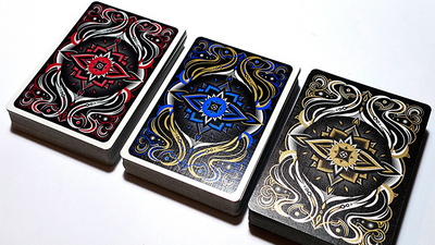Realms (Red) Playing Cards