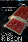 Card on Ribbon (RED) by Mickael Chatelain - Trick