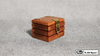 Quarter Go Box (Teak) by Mr. Magic - Trick