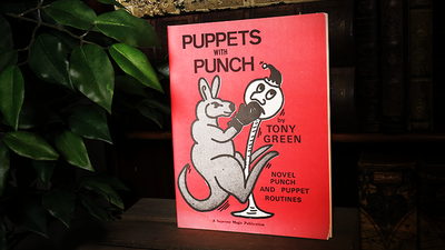 Puppets with Punch by Tony Green - Book