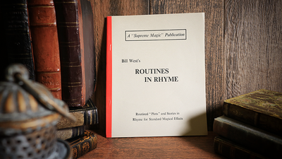 Bill West's Routines in Rhyme - Book