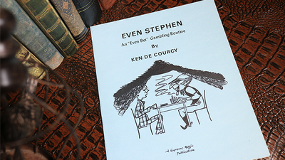 Even Stephen by Ken de Courcy - Book