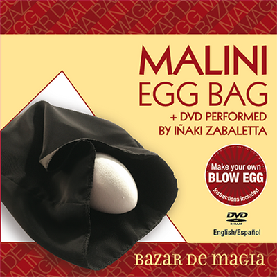 Malini Egg Bag Pro (Bag and DVD) - Trick