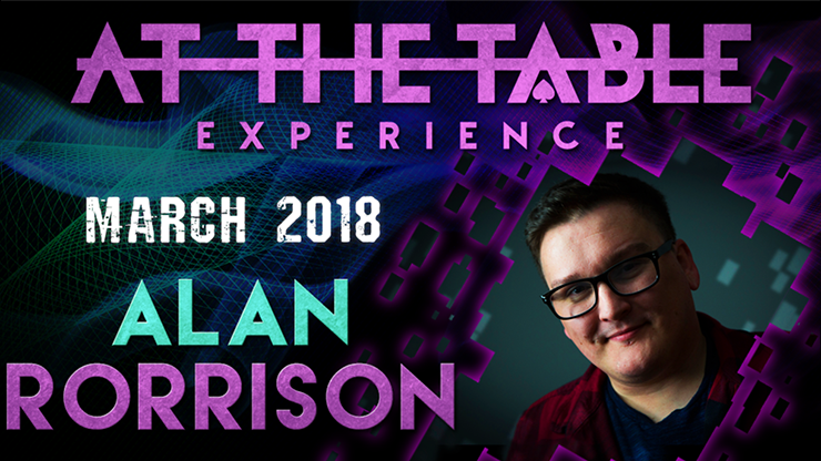 At The Table Live Lecture 2 Alan Rorrison March 7th 2018 video DOWNLOAD