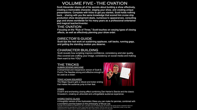Standing Up On Stage Volume 5 The Ovation by Scott Alexander - DVD