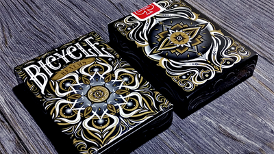 Bicycle Realms (Black) Playing Cards