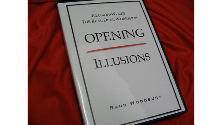 OPENING ILLUSIONS by Rand Woodbury - DVD
