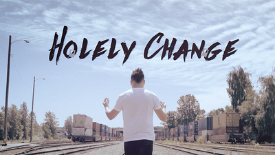 Holely Change Blue (DVD and Gimmicks) by SansMinds Creative Lab - DVD