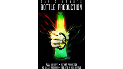 David Penn's Beer Bottle Production (Gimmicks and Online Instructions) - Trick