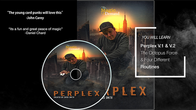 Magic On Demand & FlatCap Productions Present PERPLEX by Criss Smith - DVD