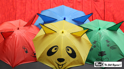 Umbrellas from Handkerchief by Mr. Magic