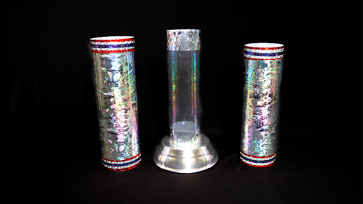 Large Crystal Silk Cylinder by Ickle Pickle - Tricks