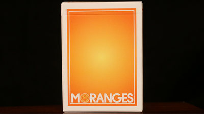 Moranges Playing Cards-First Edition (Aqua Finish) by Magic Encarta