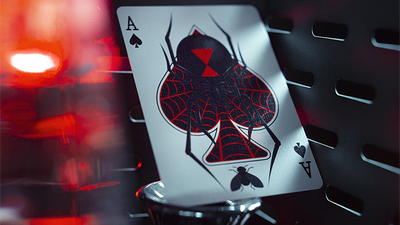 Black Widow Playing Cards