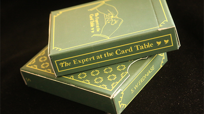 Limited Edition The Expert at the Card Table (Green) Playing Cards