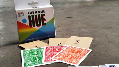 HUE (Gimmicks and Online Instructions) by Kaan Akdogan and MagicfromHolland