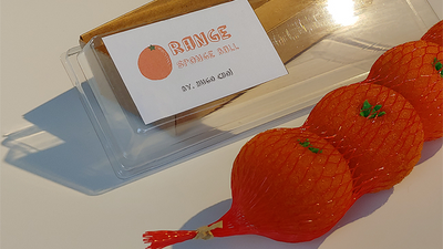 Fruit Sponge Ball (Orange) by Hugo Choi