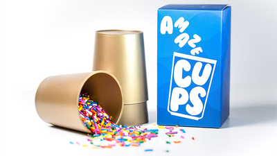 AmazeCups (Gimmicks and Online Instructions) by Danny Orleans